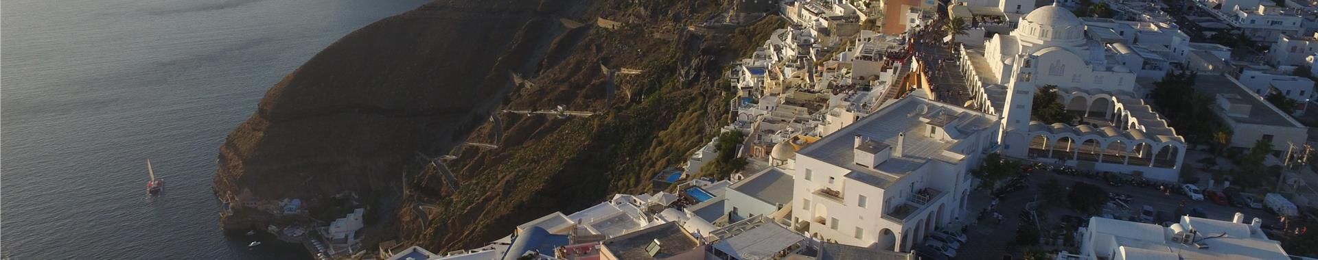 Fira Fira Hotels in Santorini island, Greece