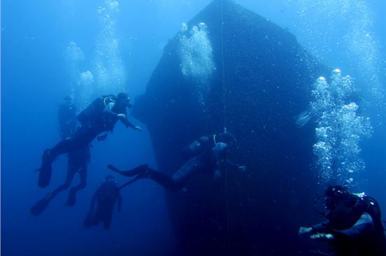 Photo of Explore Two Dive Sites in Santorini