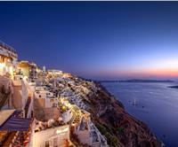 Fira - the capital of Santorini