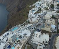 Accommodation in Santorini with great view