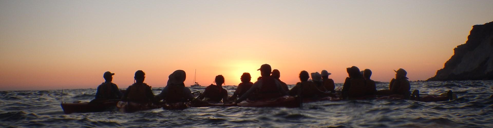 Photo of Santorini Sunset Sea Kayaking Tour