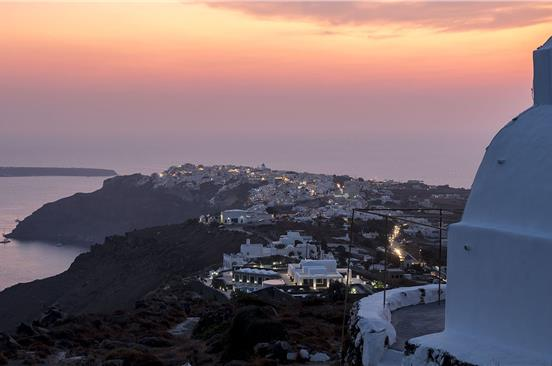 Photo of Santorini Caldera Walking Tour and Sunset Viewing in Oia
