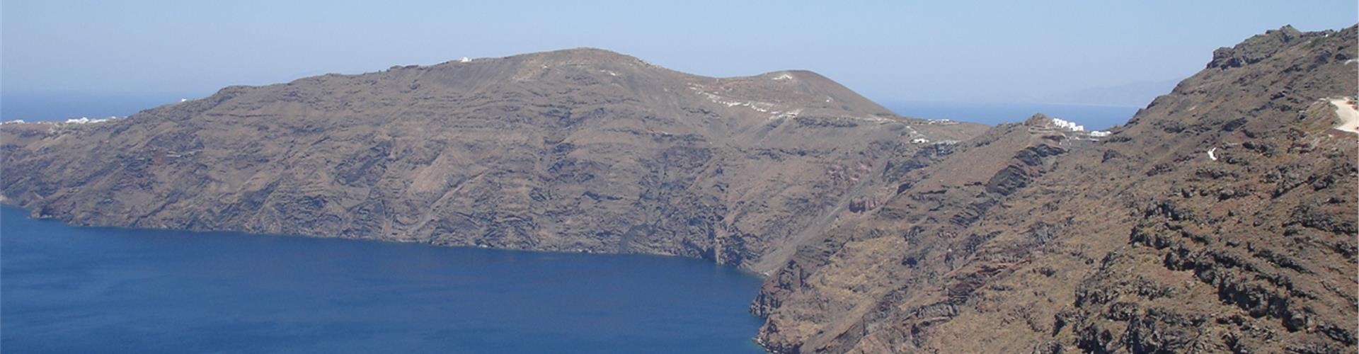 Where can you go on a day trip from Santorini?
